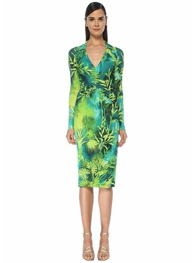 Versace Elbise Yeşil
